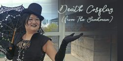 Death from The Sandman (one character, two cosplays)